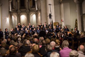 Mozart Requiem in zu kleiner Kirche
