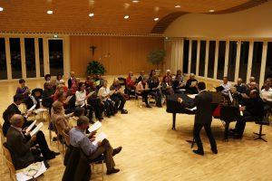 SFR: «Ein Chor voller Gloria-Güggel»